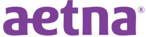 aetna in network drug rehab coverage purple logo